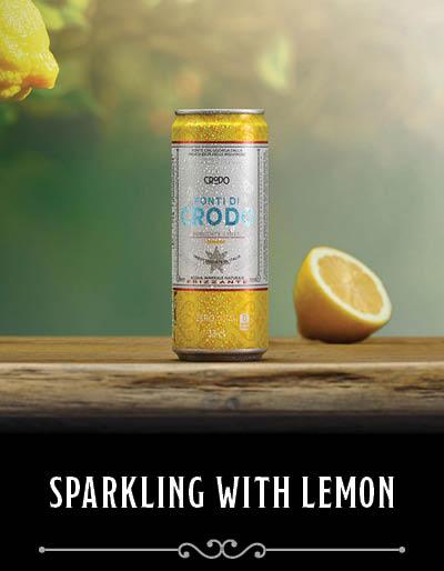 Sparkling lemon